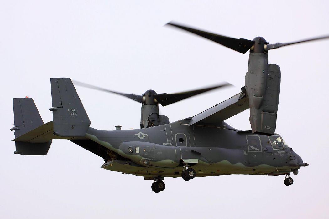 V22 Osprey military helicopter cargo transport plane wallpaper