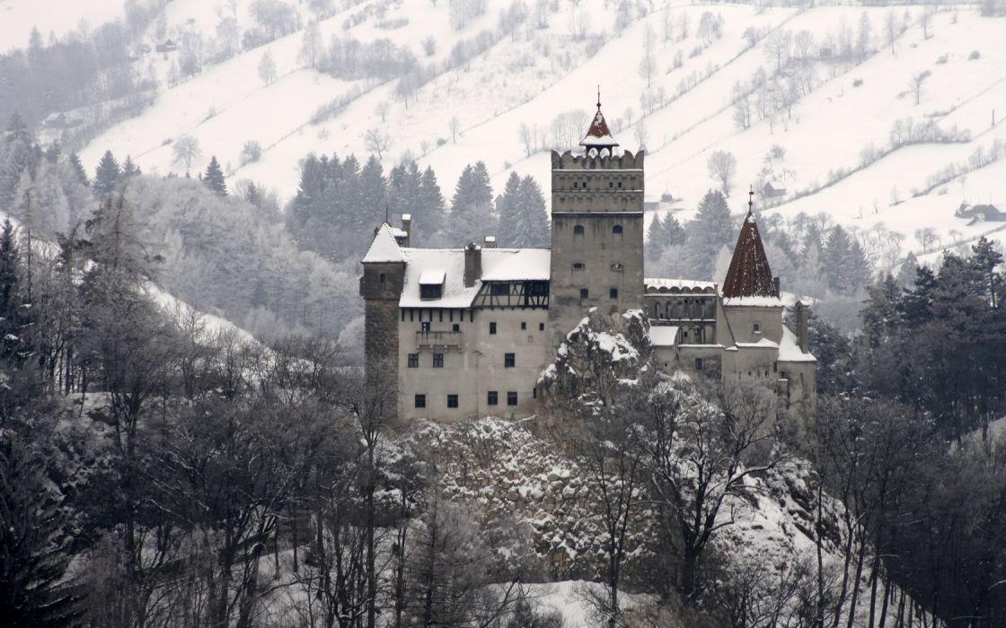 Dracula's Castle Bran Transylvania Romania wallpaper