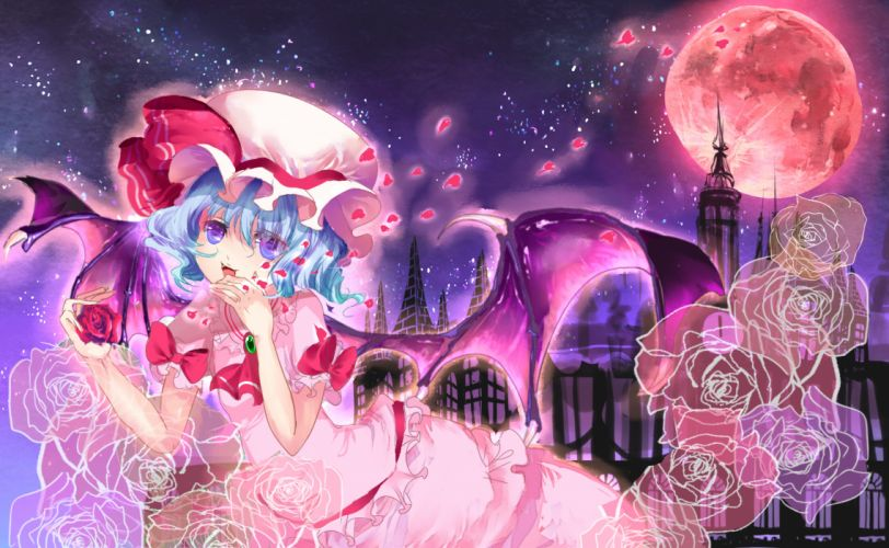 Touhou Remilia Scarlet wallpaper