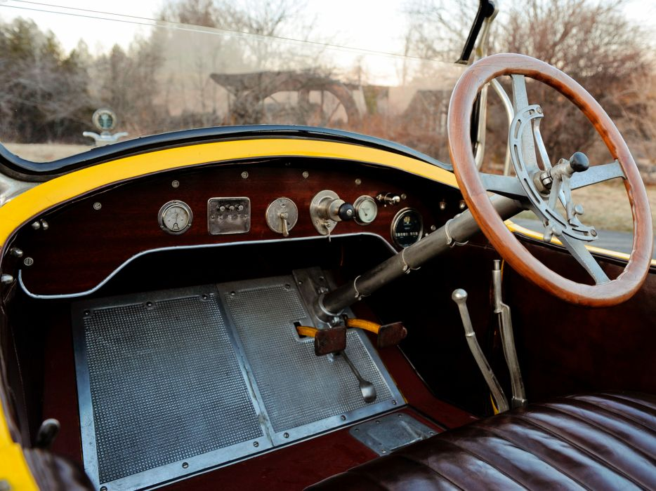 1920 Stutz Series-K Roadster retro interior          h wallpaper