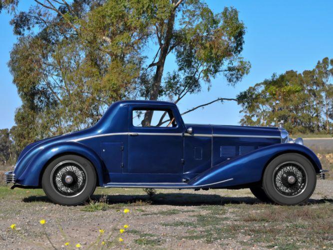 1928 Stutz Model-BB Coupe retro fh wallpaper