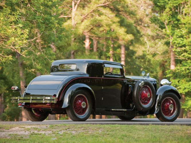 1929 Stutz Model-M Supercharged Lancefield Coupe retro g wallpaper