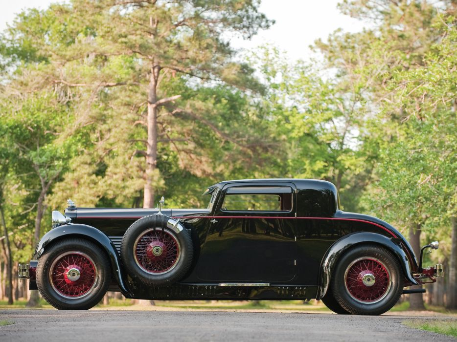 1929 Stutz Model-M Supercharged Lancefield Coupe retro    g2 wallpaper