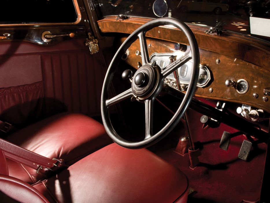 1929 Stutz Model-M Supercharged Lancefield Coupe retro interior       g wallpaper