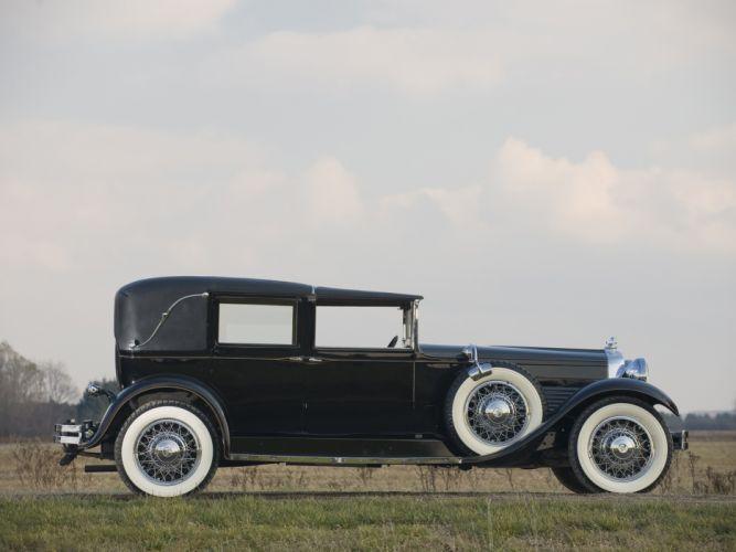 1929 Stutz Model-M Vertical Eight Town Car retro luxury g wallpaper