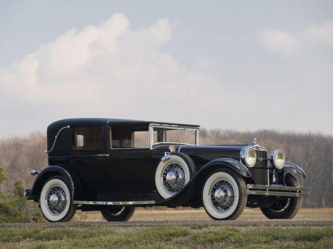 1929 Stutz Model-M Vertical Eight Town Car retro luxury wallpaper