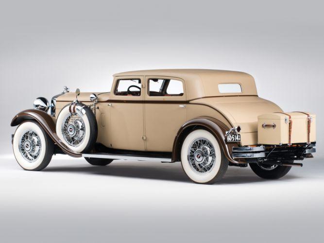 1930 Stutz Model-MB SV16 Monte Carlo Sedan by Weymann retro f wallpaper