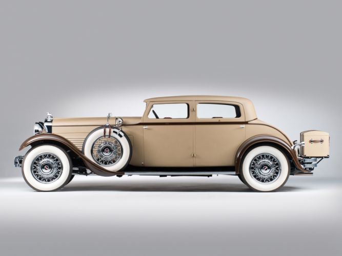 1930 Stutz Model-MB SV16 Monte Carlo Sedan by Weymann retro fw wallpaper