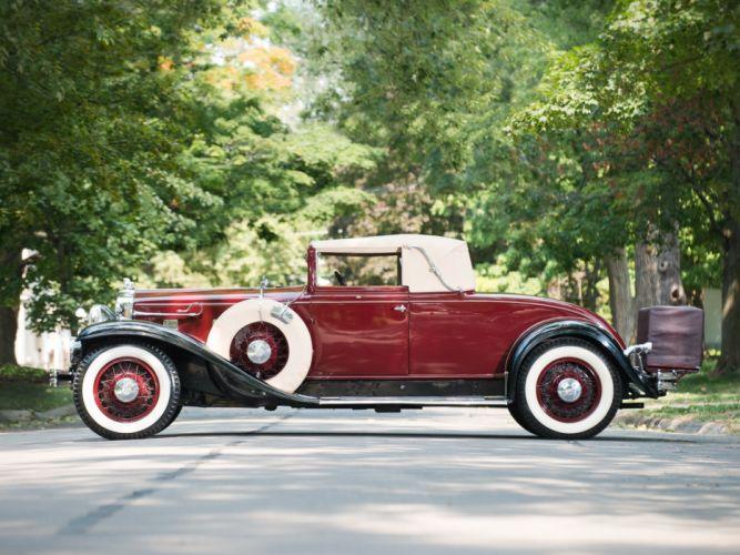 1931 Stutz Model-M SV16 Convertible Coupe by Derham retro wallpaper