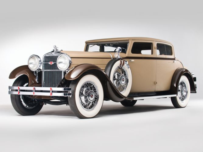 1930 Stutz Model-MB SV16 Monte Carlo Sedan by Weymann retro wallpaper
