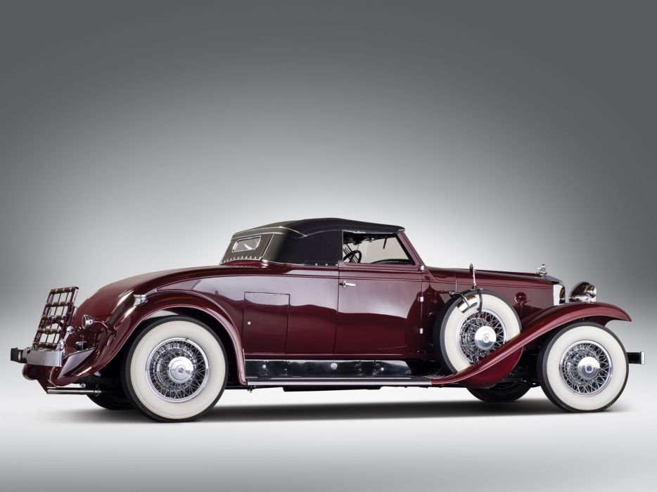 1932 Stutz DV32 Convertible Coupe by Rollston retro   f wallpaper