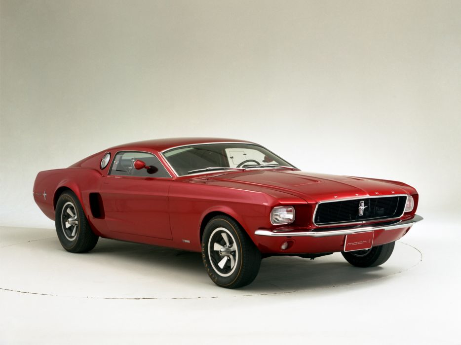 1966 Ford Mustang Mach-1 Prototype muscle classic  t wallpaper