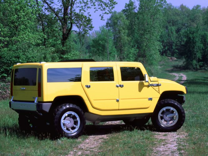2000 Hummer H2 SUV Concept 4x4 suv h-2 t wallpaper