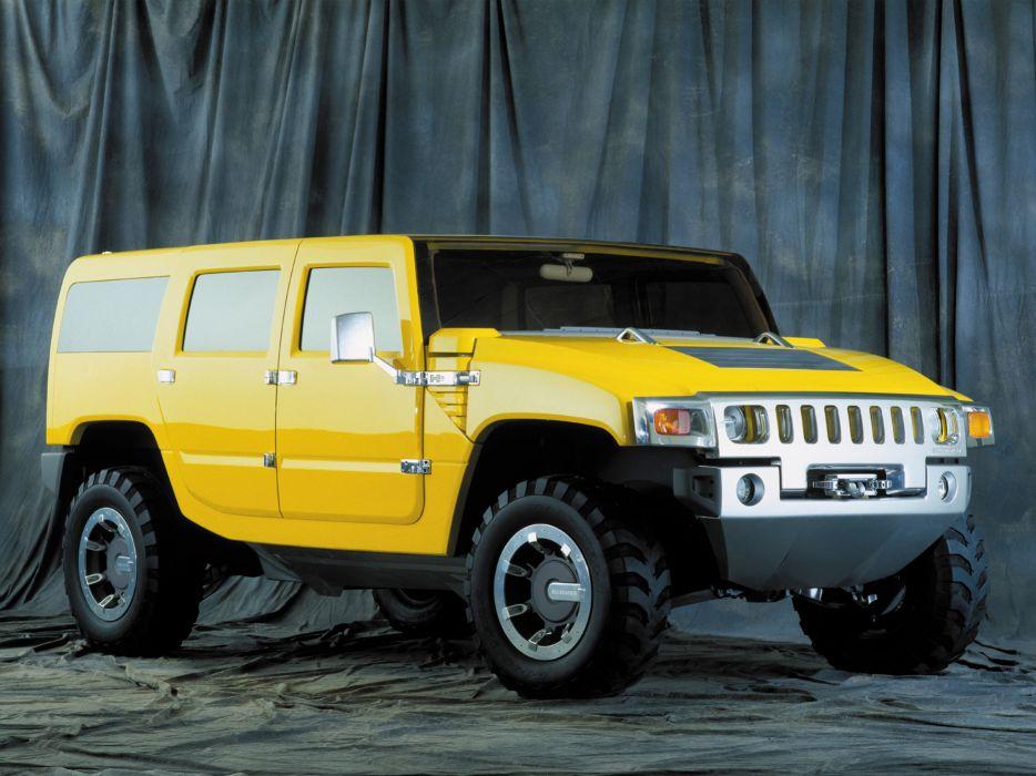 2000 Hummer H2 SUV Concept 4x4 suv h-2 wallpaper