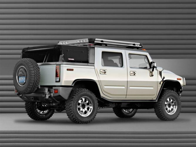 2003 Hummer H2 SUT Dirt Sport Concept 4x4 suv h-2 r wallpaper