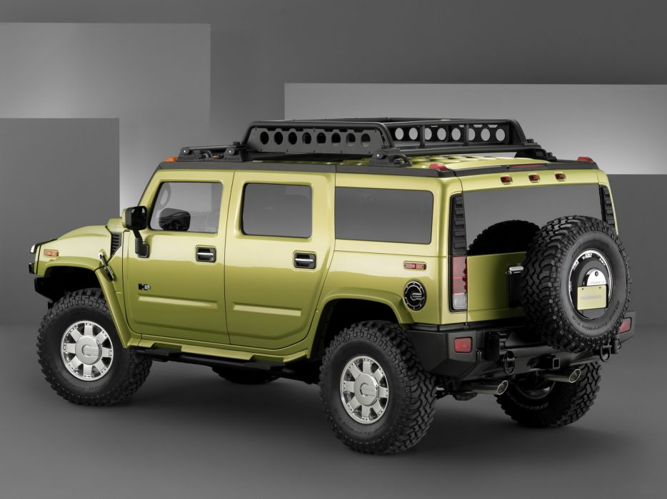 2004 Hummer H2 Special Edition Concept 4x4 suv h-2   r wallpaper