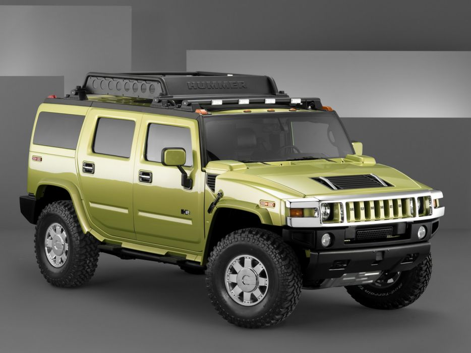 2004 Hummer H2 Special Edition Concept 4x4 suv h-2 wallpaper