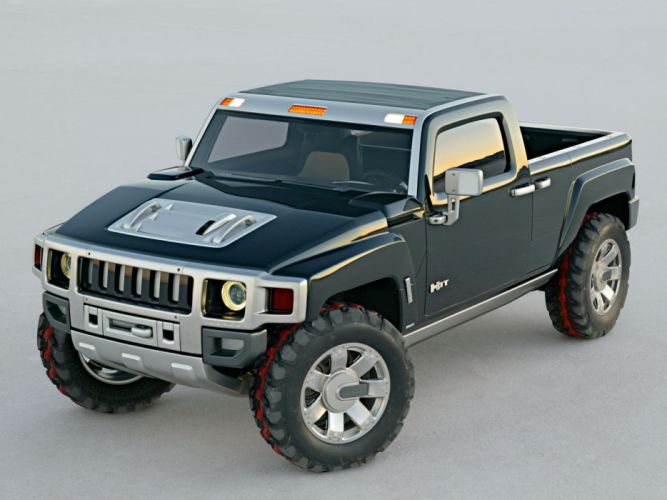 2004 Hummer H3T Concept 4x4 suv h-3 pickup tw wallpaper