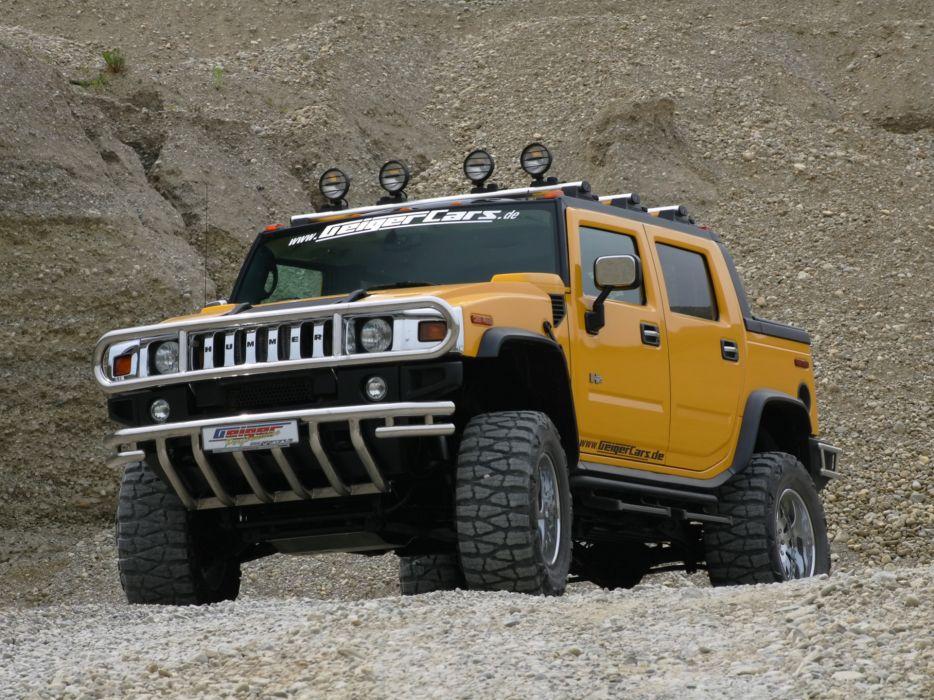 2006 Geiger Hummer H2 Hannibal 4x4 h-2    r wallpaper