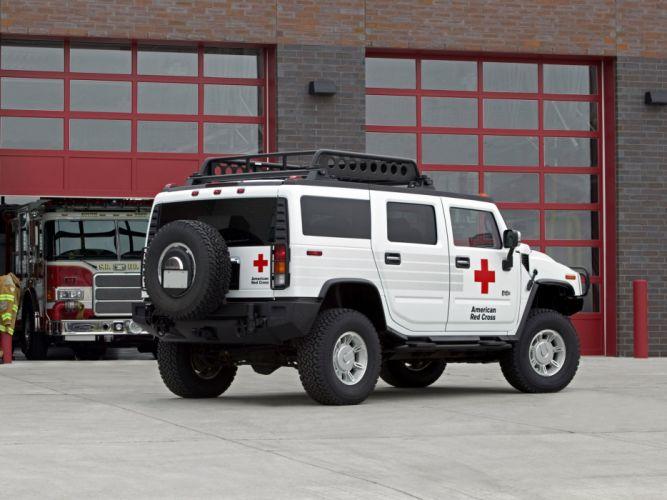 2006 Hummer H2 ARC 4x4 firetruck emergency h-2 e wallpaper