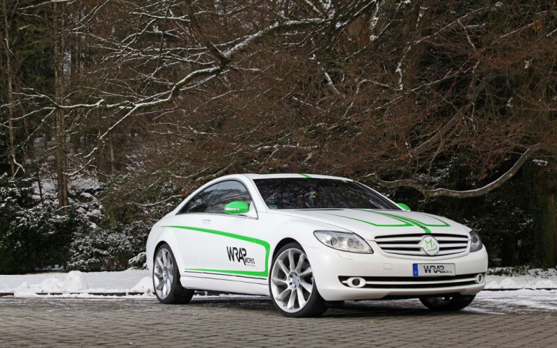 2007 WRAPworks Mercedes Benz CL-500 tuning gh wallpaper