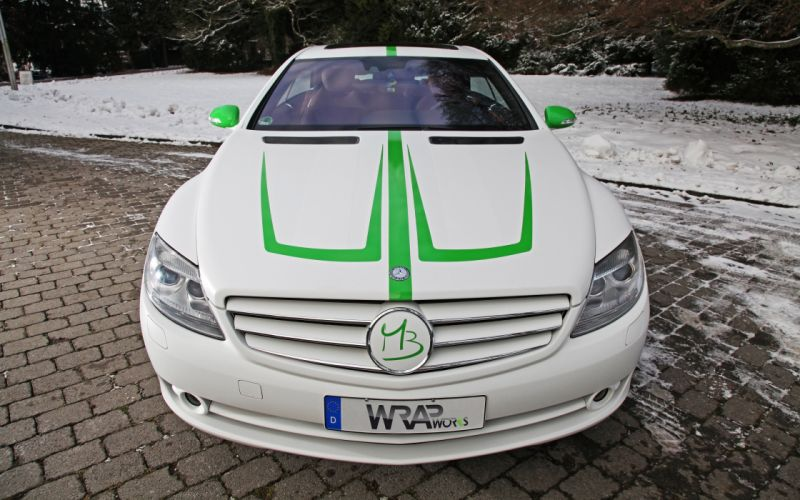 2007 WRAPworks Mercedes Benz CL-500 tuning g wallpaper