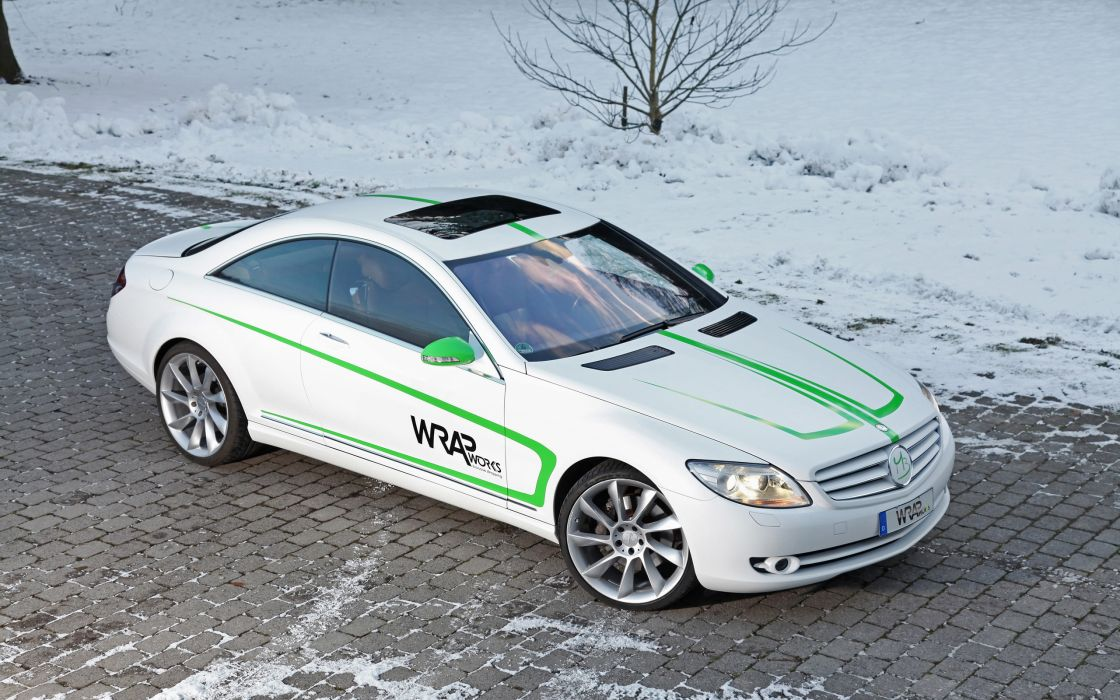 2007 WRAPworks Mercedes Benz CL-500 tuning  hg wallpaper