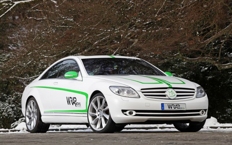 2007 WRAPworks Mercedes Benz CL-500 tuning wallpaper
