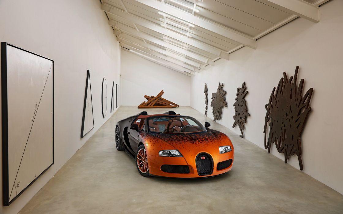 2012 Bugatti Veyron Grand Sport Venet supercar     h wallpaper