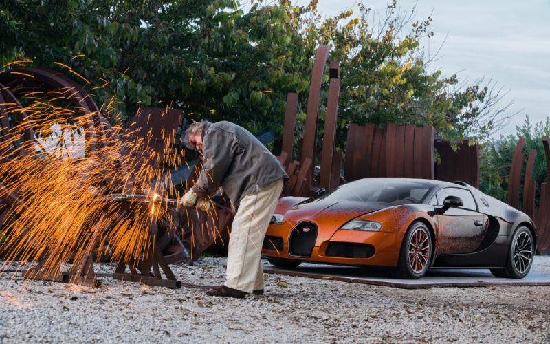 2012 Bugatti Veyron Grand Sport Venet supercar g wallpaper