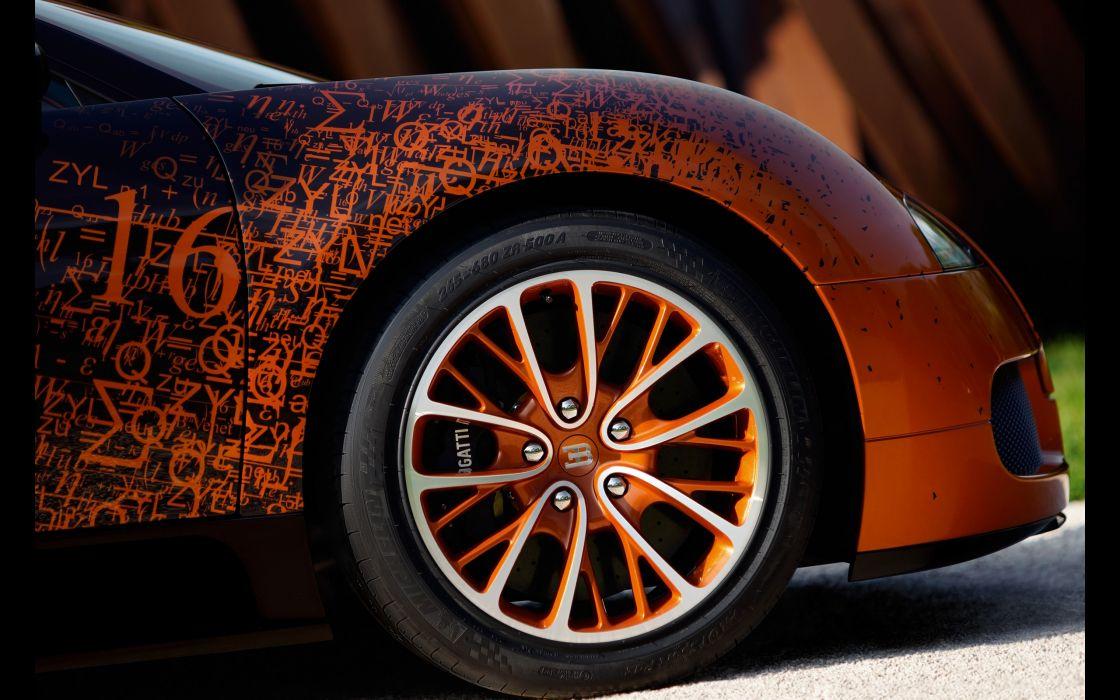 2012 Bugatti Veyron Grand Sport Venet supercar wheel        h wallpaper