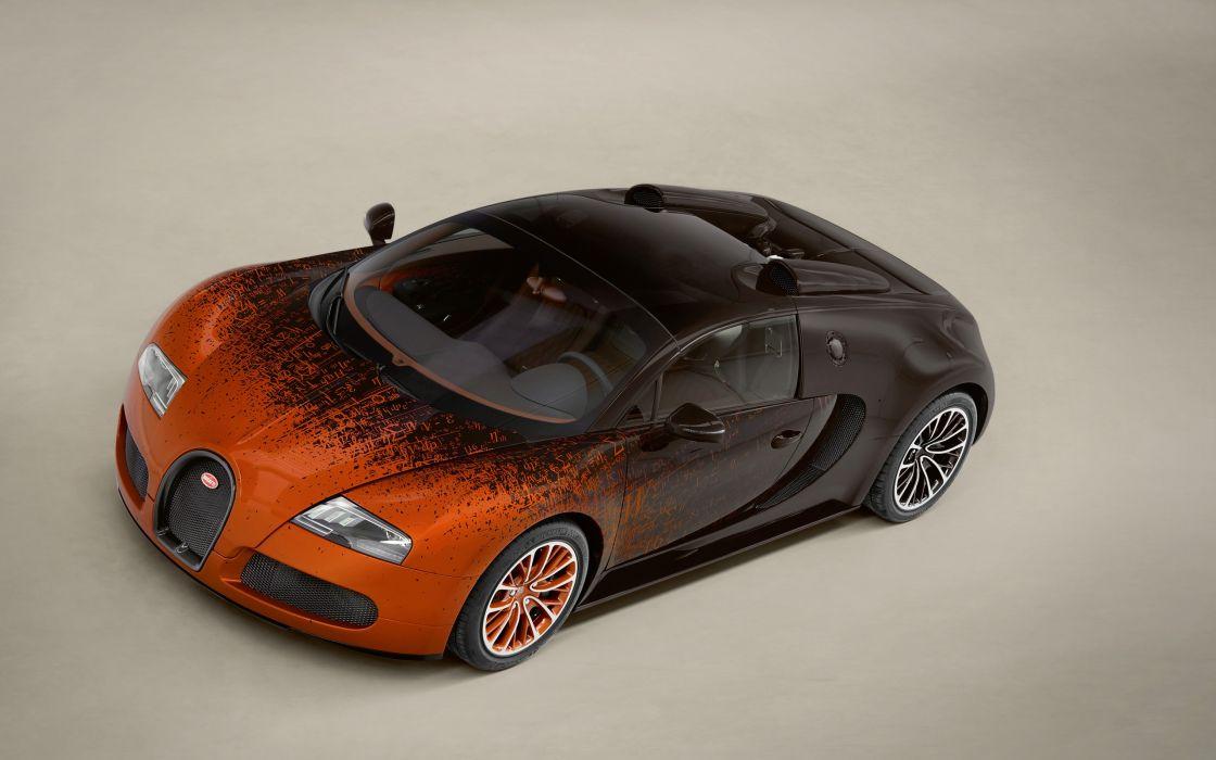 2012 Bugatti Veyron Grand Sport Venet supercar   gy wallpaper
