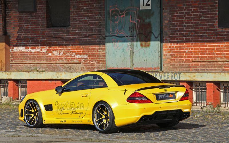 2013 Fostla Mercedes Benz R230 SL-55 AMG tuning supercar d wallpaper