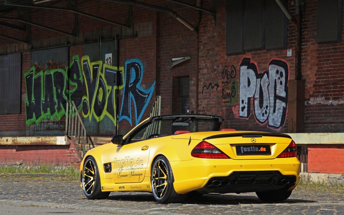 2013 Fostla Mercedes Benz R230 SL-55 AMG tuning supercar g wallpaper