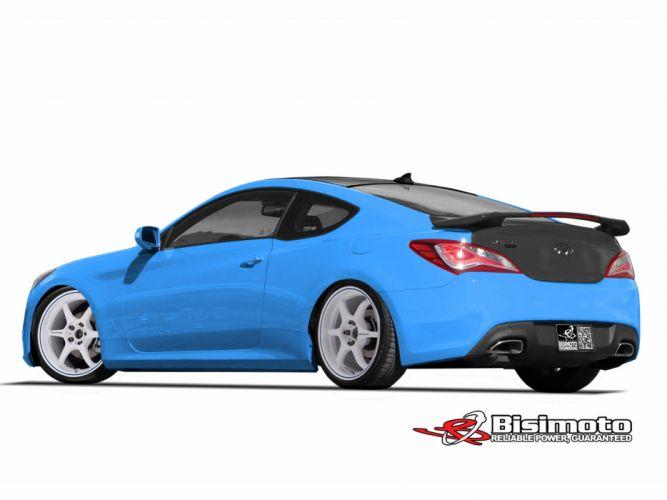 2013 Hyundai Genesis Coupe Bisimoto tuning g wallpaper