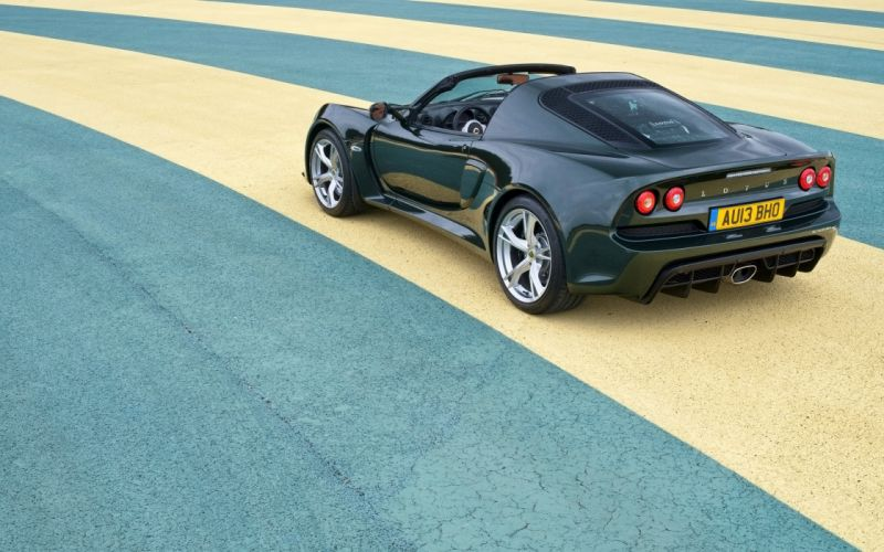 2013 Lotus Exige S Roadster supercar f wallpaper