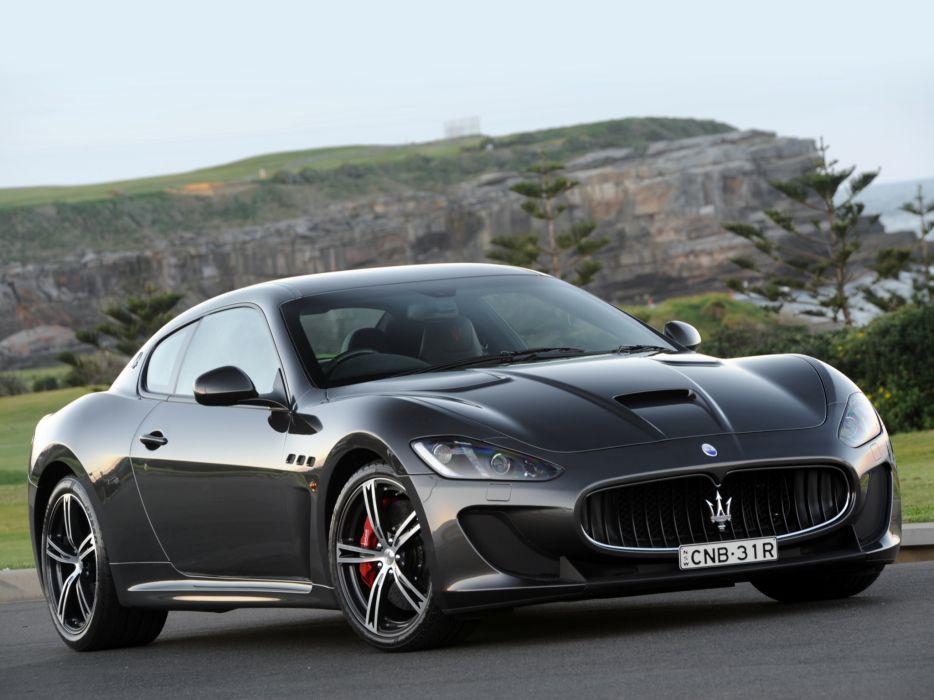 2013 Maserati GranTurismo MC Stradale AU-spec m-c    g wallpaper
