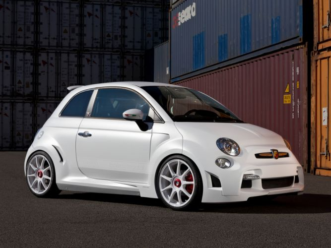 2013 Zender Abarth 500 Corsa Stradale Concept tuning wallpaper