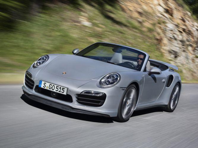 2014 Porsche 911 Turbo Cabriolet 991 wallpaper