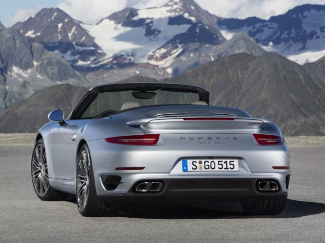 2014 Porsche 911 Turbo Cabriolet 991 wt wallpaper