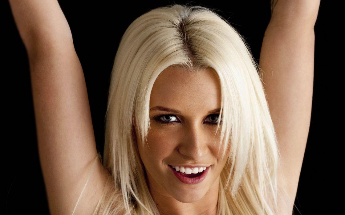 Woman Girl Blonde Bare Maidens Shae wallpaper