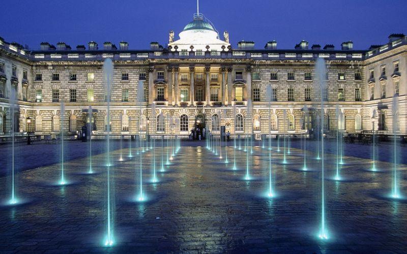 Architecture London Somerset House United Kingdom wallpaper