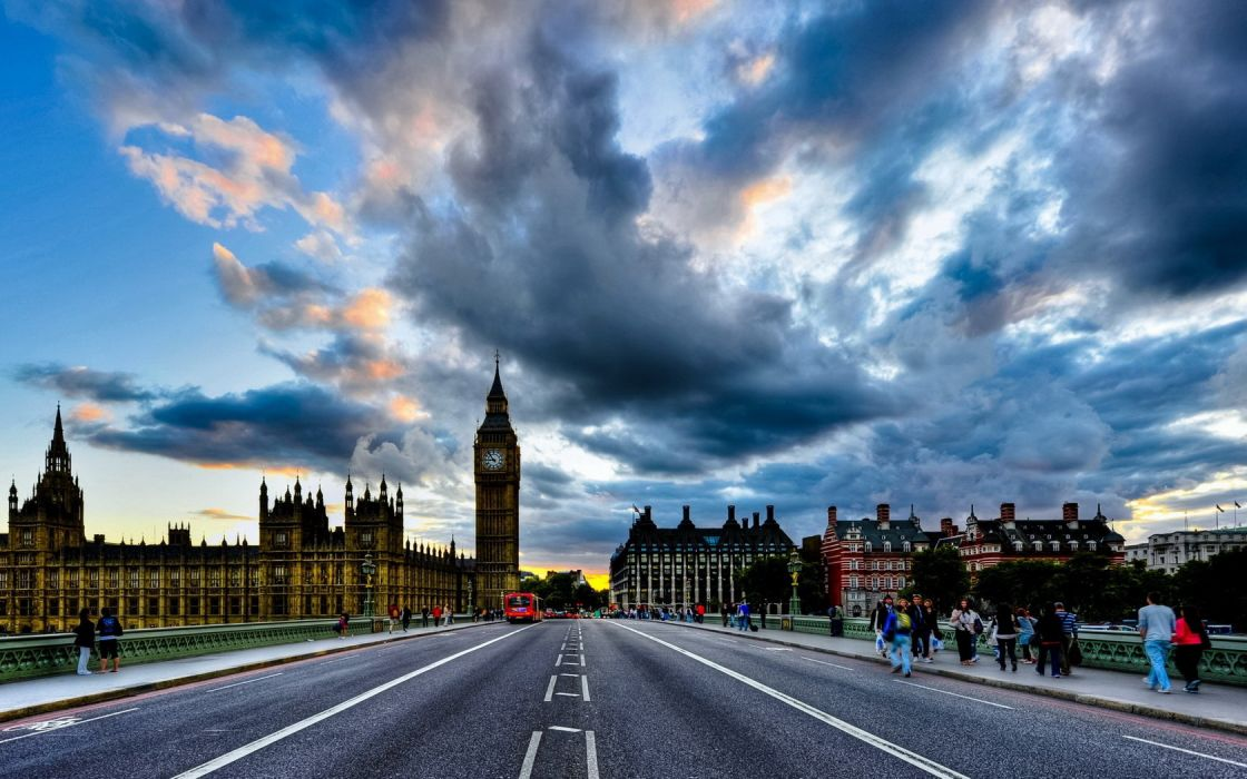 Big Bang Bridge London wallpaper