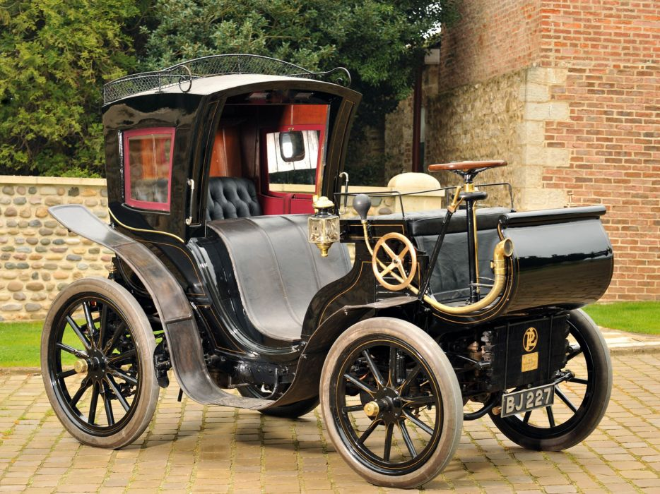 1901 Panhard Levassor Forward Control Cab Phaeton by Keil retro wallpaper
