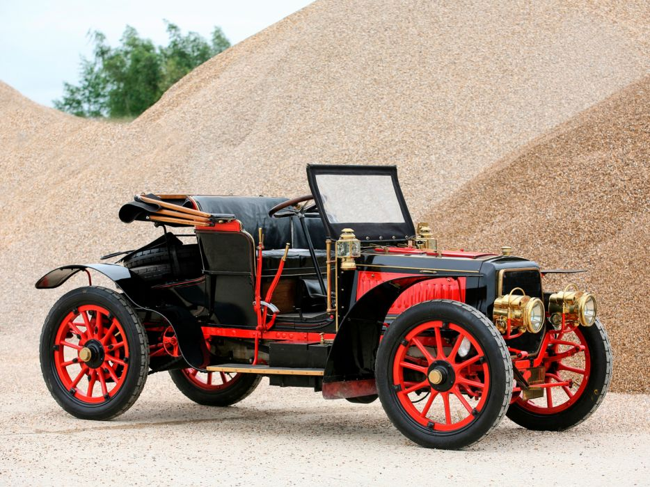 1901 Panhard Levassor Type-G retro    g wallpaper