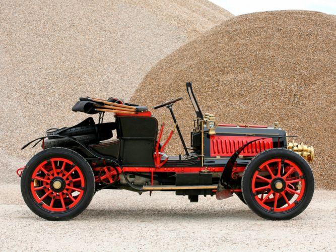 1901 Panhard Levassor Type-G retro g wallpaper
