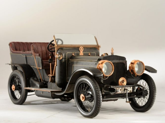 1907 Daimler Type-TP45 10_6-litre Tourer retro gf wallpaper
