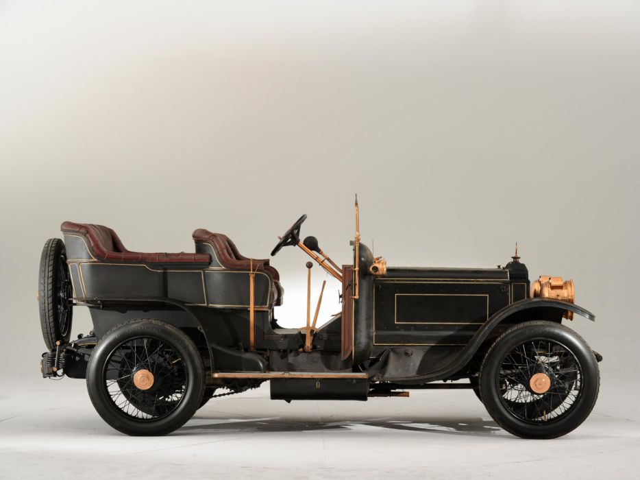 1907 Daimler Type-TP45 10_6-litre Tourer retro  f wallpaper