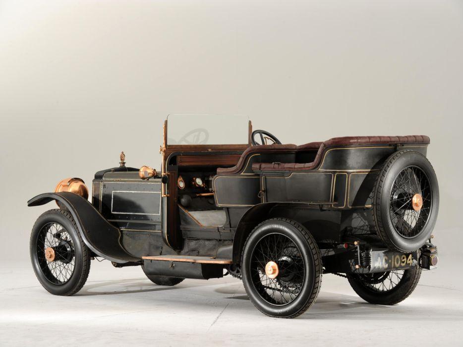1907 Daimler Type-TP45 10_6-litre Tourer retro wallpaper