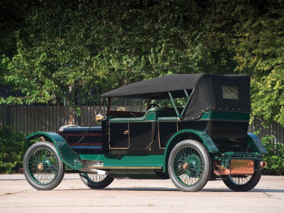 1911 Daimler 6-23 Phaeton Touring retro   f wallpaper